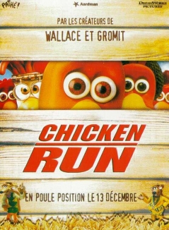 affiche de Chicken Run
