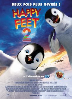 affiche de Happy Feet 2