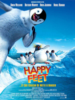 affiche de Happy Feet