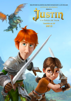 affiche de Justin and the Knights of Valour
