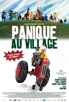 affiche de Panique au Village