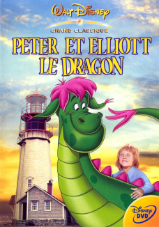 affiche de Peter et Elliott le Dragon
