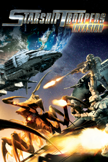 affiche de Starship Troopers : Invasion