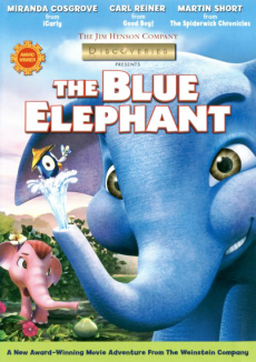 affiche de The Blue Elephant