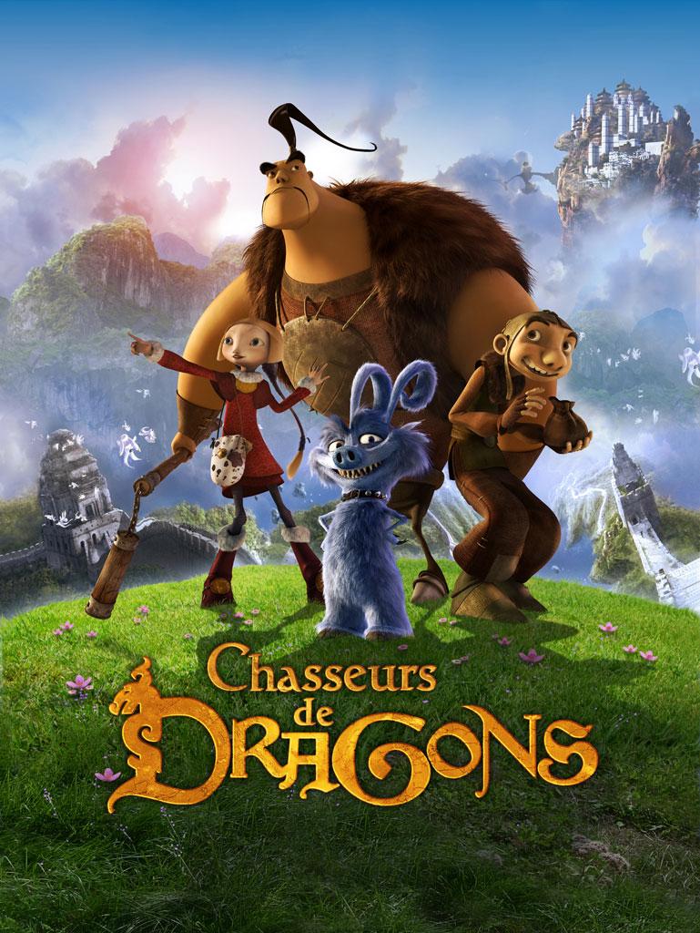 affiche film Chasseurs de dragons